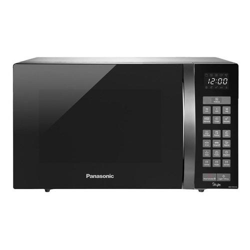 Microondas Panasonic Style NN-ST67HSRU aço inoxidável 32L 110V
