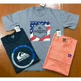 Kit 5 Camisetas Plus Size Masculina Camisa Tamanho Grande G3