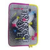 Case Para Notebook Luxcel 10 Fiorucci - Cinza - 72172
