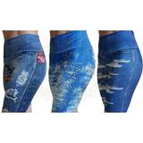 Kit 05 Bermuda Ciclista Imita Jeans Short Atacado Revenda