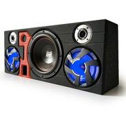 Kit De Sonido Para Carro Con Amplificador Planta Y Subwoofer