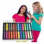 Tiza Temporal Color Chalk Pelo Mechas 24 Unid / Fernapet
