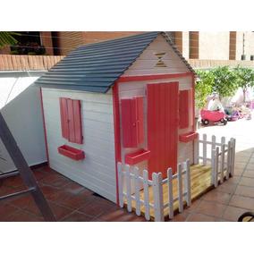 Casa Muñecas Madera Niños Parque Preescolares Guarderías