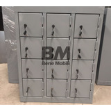 Lockers Mini Guarda Celulares 12 Puertas Directo De Fabrica