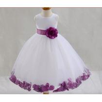 Vestido Infantil Festa Princesa, Daminha, Aniversário