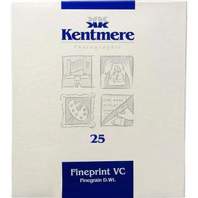 Papel Fotográfico Kentmere Fibra 18x24 Lab Preto E Branco