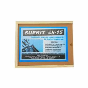 Kit Suetoku P/ Circuito Impresso De Eletrônica Suekit Ck-15