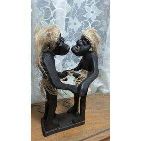 Figura Africana Pareja De Novios