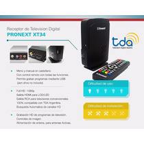 Tda Decodificador Digital Pronext Jyr Promo!!! Zona Sur