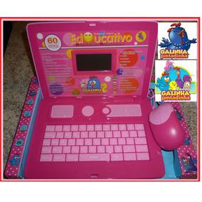 Laptop Notebook Infantil Educativo Galinha Pintadinha Tablet