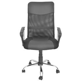 Cadeira Giratória Presidente Escritório Tela Mesh Trevalla