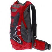 Mochila Hidratação Red Dragon Cargo + Bolsa Água 2,5 Vermelh