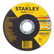 Disco Abrasivo Corte Multimaterial 4 1/2 Pol Stanley Sta8070