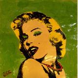 Espectacular Retrato Marilyn Monroe Del Artista Jorge Calvo