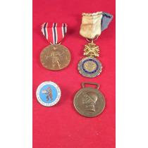 Condecoraciones: Militaris Y Civiles De Bronce C/esmalte, Eu
