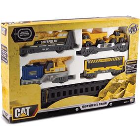 Trenzinho Dtc Iron Diesel Train Caterpillar Trem Cat C/motor