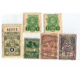 Sellos Fiscales - Centenarios - Lote 1
