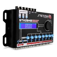 Processador Sequenciador Digital Som Carro Stx2848 Stetsom