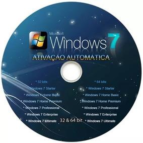 Windows7 Profissional 32/64bits Original Auta Ativação