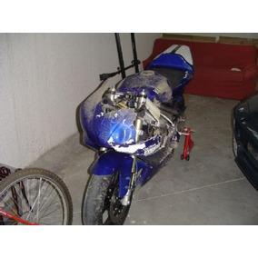Zx6 Zx10 Cbr 600 Yamaha R6 R1 Caida Chocada Faltante