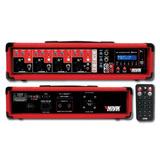 Consola Mixer Potenciado Novik 4300bt Usb Bluetooth 600w