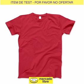 Item De Test - Remera - Por Favor No Ofertar --kc:off