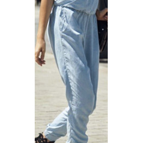Jumper Jumpsuit Romper Enterizo Jean Denim Importado Newlook