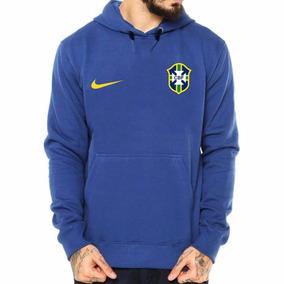 e62ec81ff5 Blusa De Selecao - Moletom Masculinas Azul no Mercado Livre Brasil