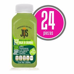 Piña-manzana Probiótico Caja 24 Pza Bebida Cold Press 350ml