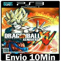 Dragon Ball Z Xv Xenoverse [* Ps3 Psn Play3 -- Português