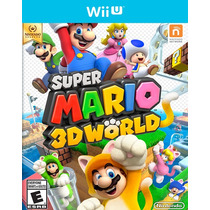 °° Super Mario 3d World Nintendo Selects Wii U °° En Bnkshop