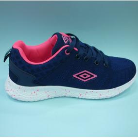 Zapatos Umbro Originales Para Damas - Um16509w Navy