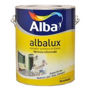 Esmalte Sintético Brillante Marrón X  4 Lts Albalux Pintura