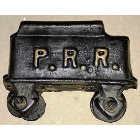 Rara Miniatura Trem Antigo Ferro Carga Pennsylvania Railroad