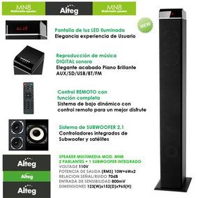 Cornetas Multimedia 2.1 Aiteg Mn8t Soundbar Paga Debito New