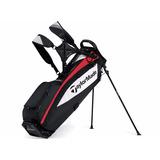 Bolsa Taylor Made Purelite Negro Rojo Buke Golf