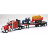 Tractomula Kenwoth W900 + Tractor Y Trailer 1/32 Carros