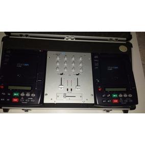 Display Mezclador Y Cd Players Stanton Smx 211 Y Estuche