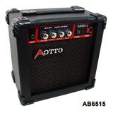 Amplificador Para Bajo Eléctrico Con Bocina Audiomex