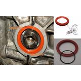 Retén Cigüeñal Rojo Silicon + Liga Volante Vocho 70x90x10mm