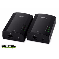 Adaptador Red Powerline Cisco Linksys Plek400 N 200mbps