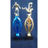 Trofeos Futbol,patin,voley,ginmasia,hockey,truco- Grabados