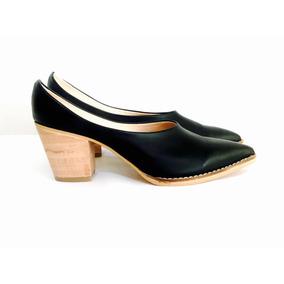 Zapato Stiletto Zueco Verano 2018 Cuero Sandalia Cielo Store
