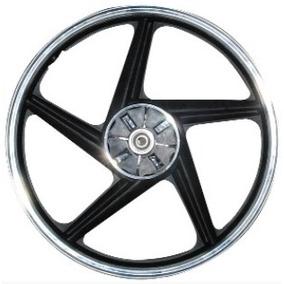Rin Aluminio Trasero Negro 18 Moto Dt125,dt150,forza,rin027