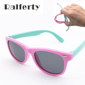 af123fa33650f Óculos De Sol Infantil Menina Flexível E Proteção Uv