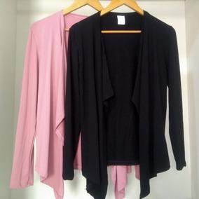 Blusa De Frio Cardigan Feminino Kimono Moda Tipo Tricô Lã