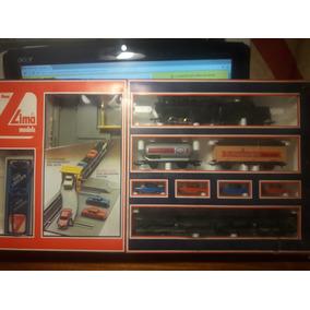 Set De Inicio Tren Con Terminal De Autos A Pila Lima Ho.