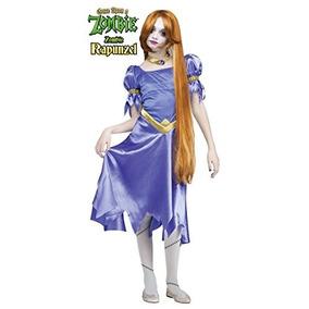 Una Vez En Zombie Rapunzel Chicas / Traje Adolescente