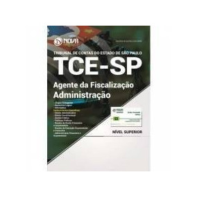 Apostila E Curso Grátis Tce-sp 2017 - Agente Da Fiscalização