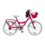 Tomaselli Bicicleta Rodado 20 Con Ccesorios Dama(72-480)